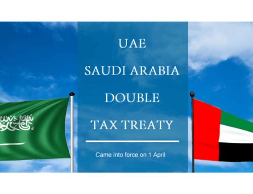 UAE SAUDI ARABIA Double Tax Treaty